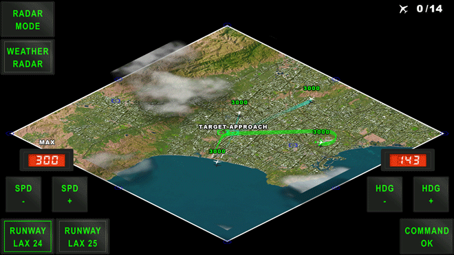 ATC Operations Los Angeles - Air Traffic Control simulation game